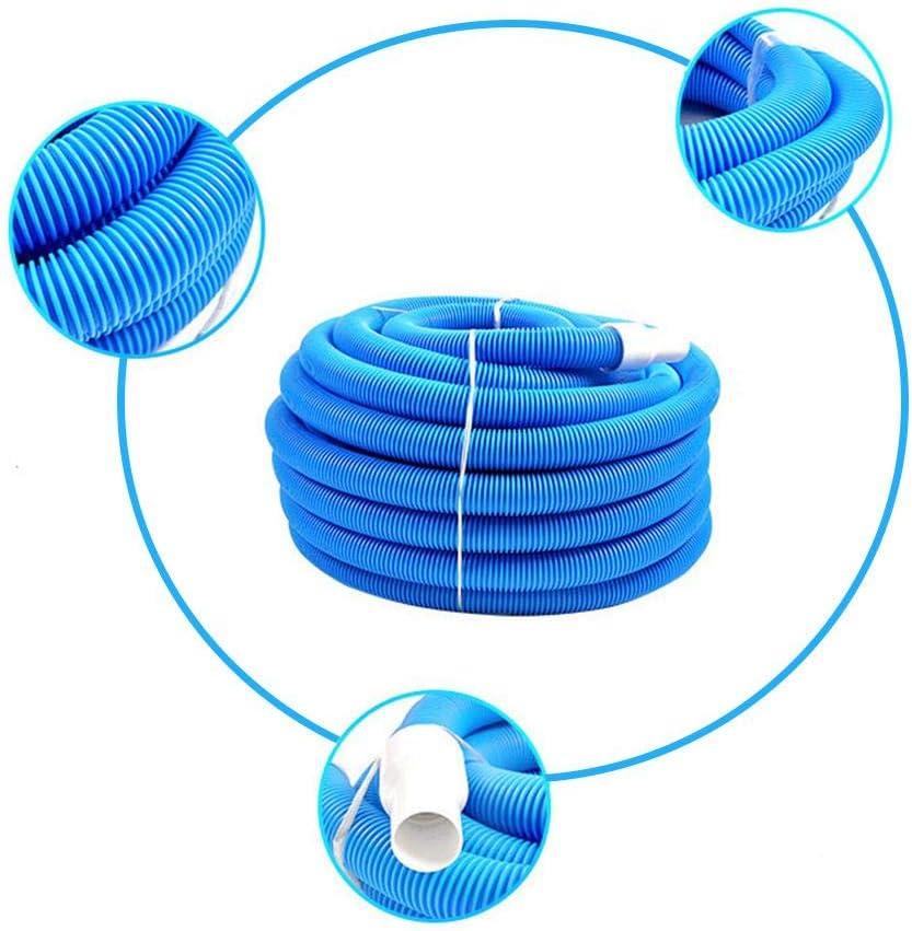 Swimming Pool Pipe Vacuum Hose Cleaning Accessories 5M//10M Exuberanter Pool Hose 38MM