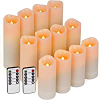 12-Pack Enido Flameless Led Candle with 10-Key Remotes
