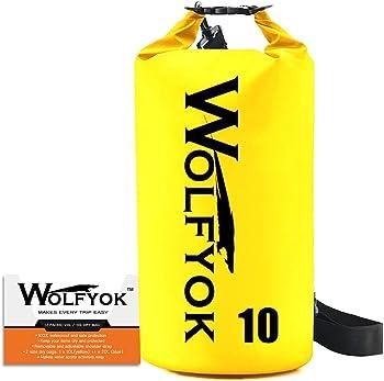 Wolfyok Roll Top Waterproof Duffle Dry Gear Bag