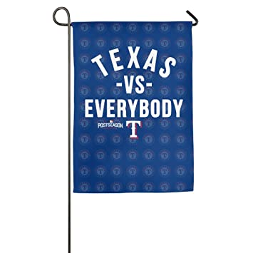 Texas Rangers 2016 Postseason Vs Everybody Garden Flag