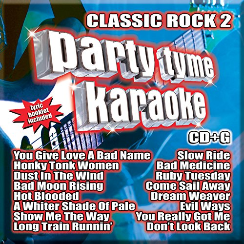 Party Tyme Karaoke - Classic Rock 2 [16-song (Rock Karaoke Music)