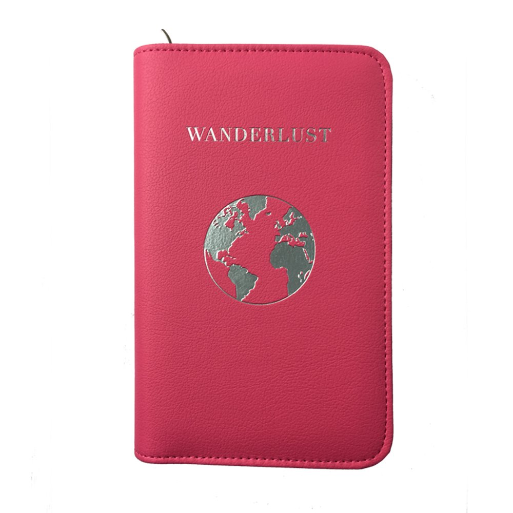 RFID Blocking Travel Accessories Travel Wallet Compatible with All Phones Phone Charging Passport Holder Multiple Variations with Upgraded Power Bank