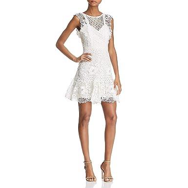 new style of 2019 genuine quality Amazon.com: BCBG Max Azria Womens Lace Mini Cocktail Dress ...