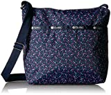 lesportsac classic - LeSportsac Classic Small Cleo Crossbody Hobo,Ditsy Dance Party,One Size