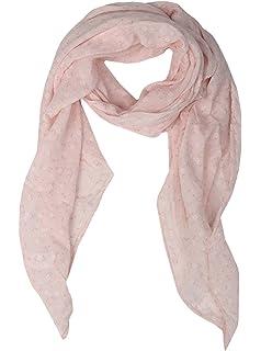 4927f77403a2a6 Seiden-Tuch Damen Blumen Muster - Made in Italy - Eleganter Sommer-Schal für