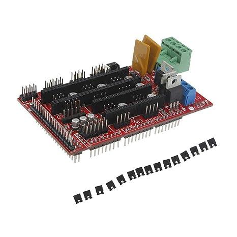 F Fityle Rampen 1.4 - Placa base para impresora 3D Arduino ...