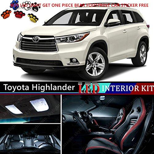 15pcs-led-premium-xenon-white-light-interior-package-deal-for-toyota-highlander-2014-2016