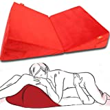 Rekink 2 x Sex Pillow Cushion Triangle for Couples | Position Adult Toy Women Black Couple Furniture Portable Ramp Support Tr
