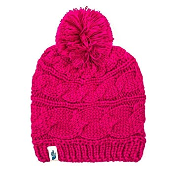 4e10cadd67a026 The North Face Women's Triple Cable Pom Beanie - dramatic plum, one size:  Amazon.ca: Sports & Outdoors