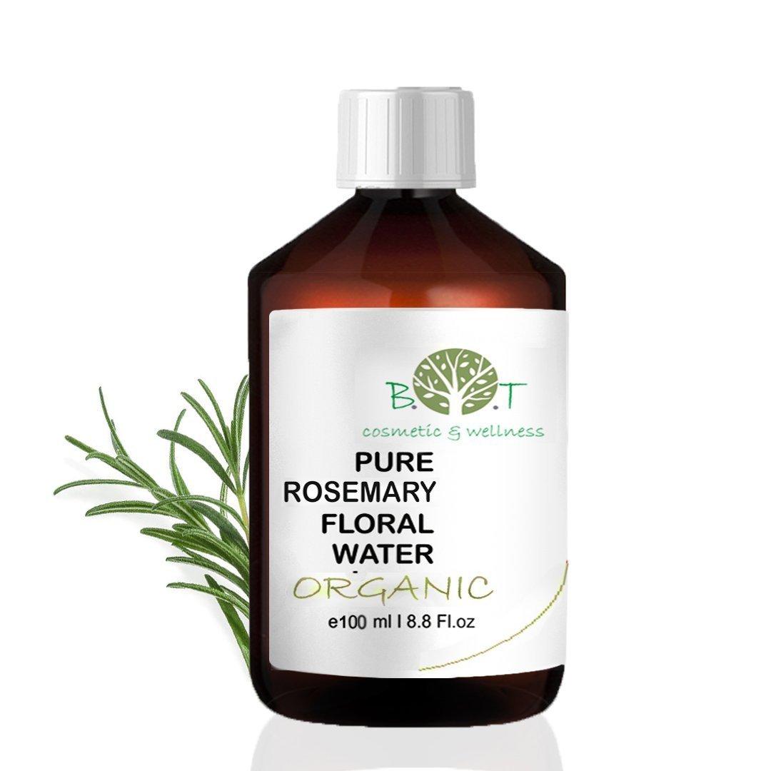 BIO-Blütenwasser Hydrolat Rosmarin -100 ml ROSMARIN BLÜTENWASSER Made in France