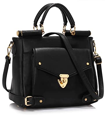 cb85880f52e Designer Handbags For Women Ladies Office Female Bags Large Faux Leather  Best For College With Front