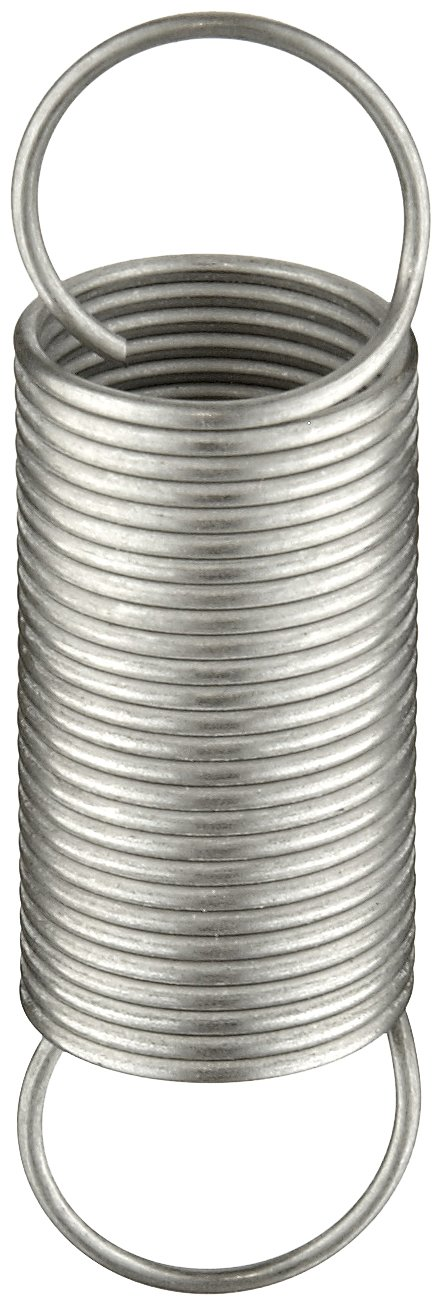 0.5 OD 5.52 Extended Length Inch Pack of 10 0.67 lbs//in Spring Rate 302 Stainless Steel 1.75 Free Length Extension Spring 2.91 lbs Load Capacity 0.5 OD 0.034 Wire Size 1.75 Free Length 5.52 Extended Length E05000341750S 0.034 Wire Size