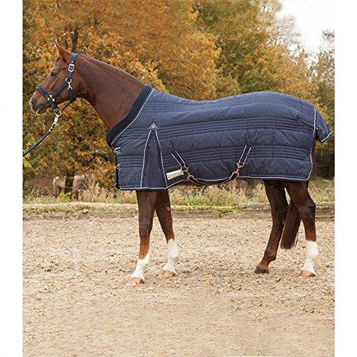 offrendo il 100% Coperta per cavallo cavallo cavallo Comfort Line 200 g Blu Notte 125 cm  garanzia di qualità