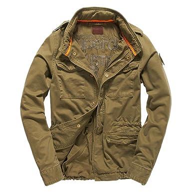cdf4c577b Superdry Veste Field Blazer: Amazon.fr: Vêtements et accessoires