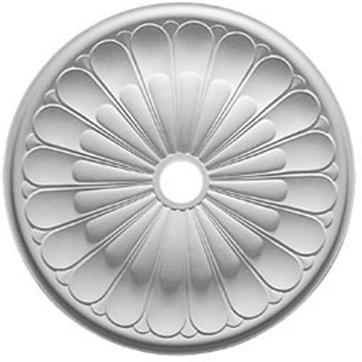 Ekena Millwork CM31GO 31 5/8-Inch OD x 3 5/8-Inch ID x 1 7/8-Inch P Gorleen Ceiling Medallion