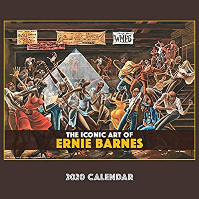 Shades of Color 2020 African American Calendar The Iconic Art of Ernie Barnes 12 by 12 Inches 20EB