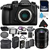 Panasonic Lumix DC-GH5 Mirrorless Micro Four Thirds Digital Camera (Body Only) + Panasonic 12-60mm f/2.8-4 Lens + 128GB Class 10 Memory Card Bundle