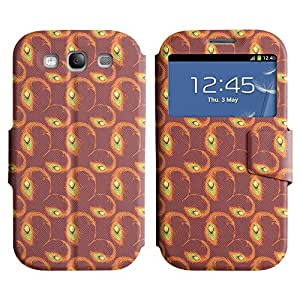 AADes Scratchproof PU Leather Flip Stand Case Samsung Galaxy S3 III i9300 ( Amazing Pattern )