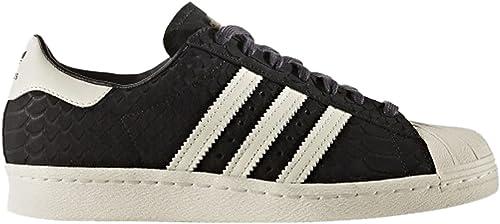 quality design 0061f 4de36 Zapatillas adidas - Superstar 80s W negro blanco blanco talla  40-2 3   Amazon.es  Zapatos y complementos