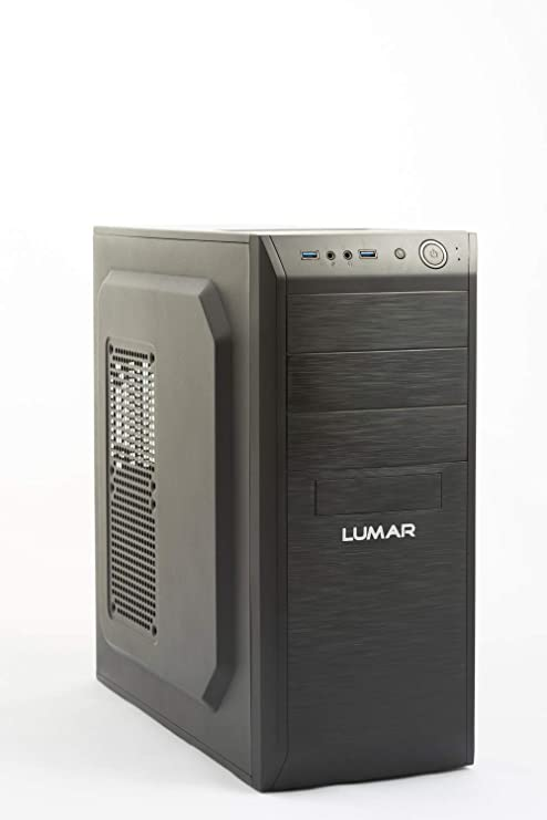 Ordenador PC LUMAR Intel Core I7 Quad Core 3,8GHz 16GB RAM, 240GB SSD, 2TB HDD, DVDRW, HDMI, Sonido HD, USB3, Red 1Gb, Wi-Fi, Windows 10 Pro Trial