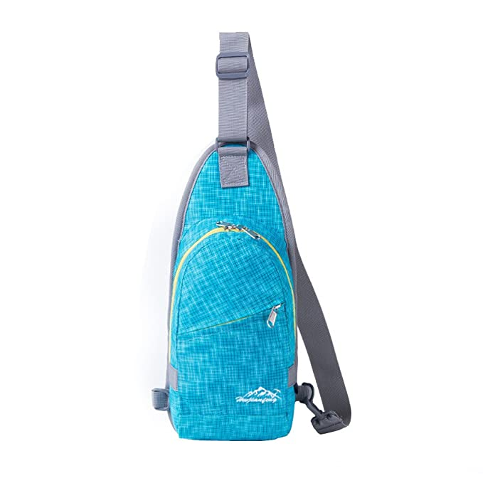 0e38c9e3ddc4 Amazon.com : Glumes Sling Bag Chest Shoulder Backpack Crossbody Bags ...