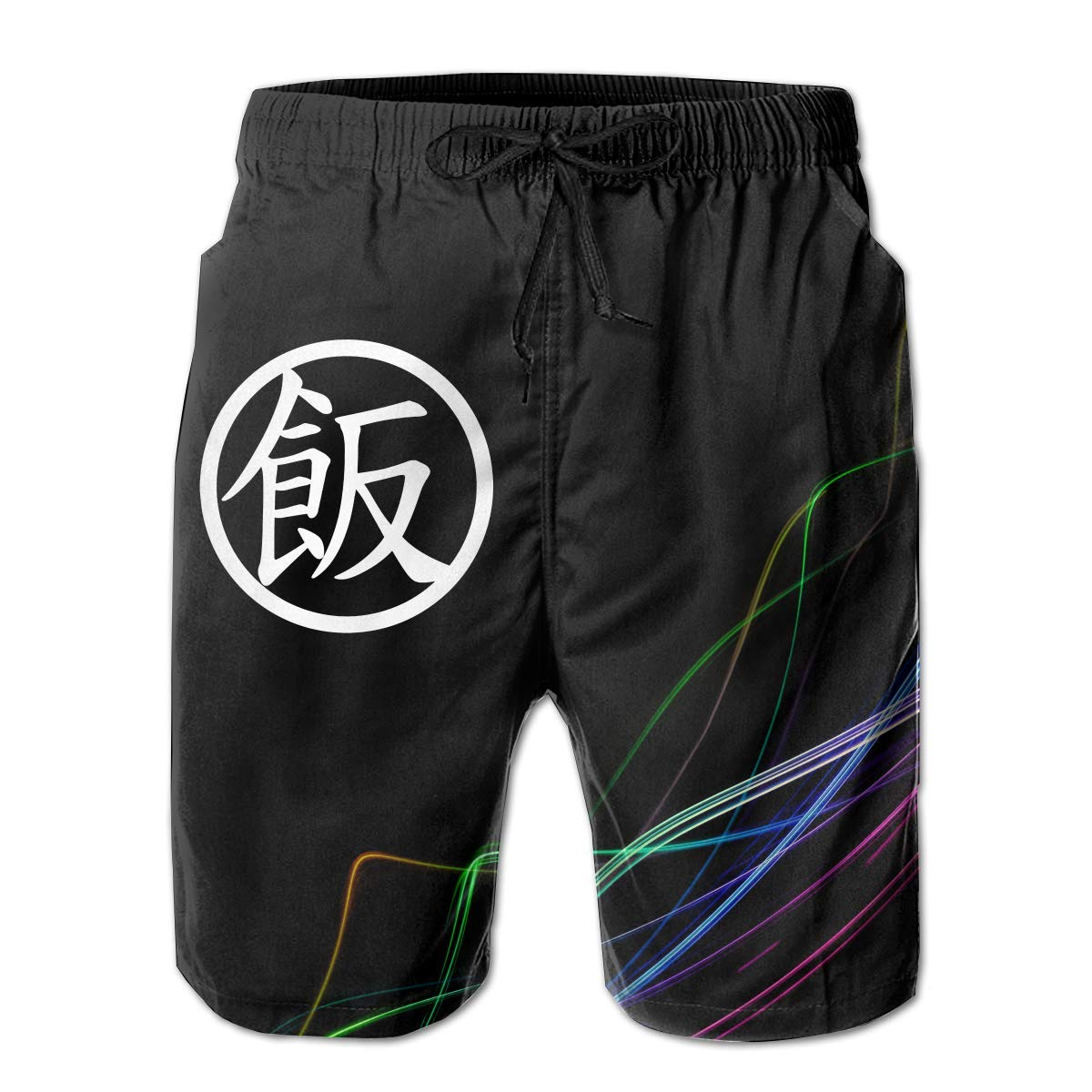 Bensontop Futuro Gohan Kanji para Hombres Pantalones Cortos ...