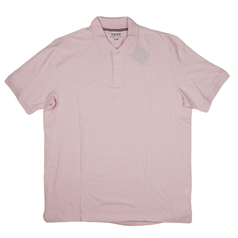Izod Mens Pima Cotton Polo Shirt X Large French Pink At Amazon Mens