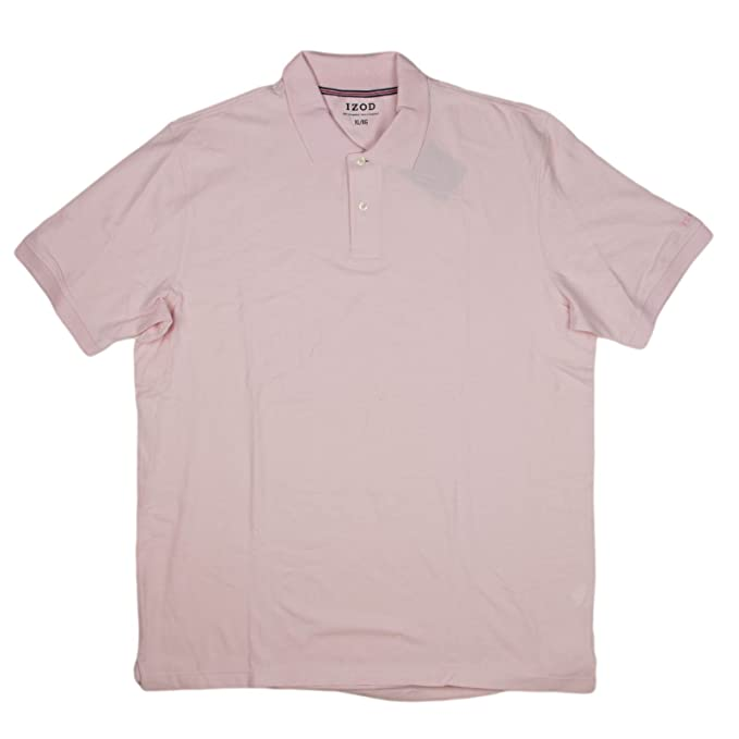 3ab88c9a Image Unavailable. Image not available for. Color: IZOD Mens Pima Cotton  Polo Shirt X-Large French Pink