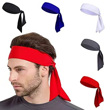 Amazon.com: YOJOLO Pirate Bandana,Workout Headbands Head ...