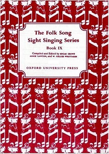 Joomla eBookin lataaminen Folk Song Sight Singing Book 9 (Bk. 9) by Edgar Crowe,Annie Lawton in Finnish PDF CHM 0193853906