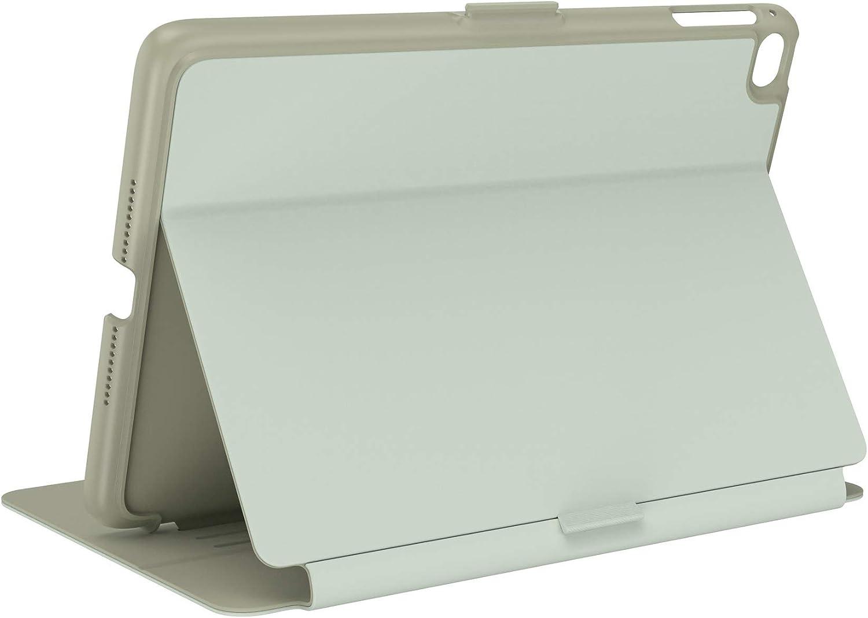 Speck Products Balance Folio iPad Mini 2021/iPad Mini 4/iPad Mini 5 Case and Stand, Velvet Green/Oakmoss Green