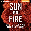 Sun on Fire Audiobook by Viktor Arnar Ingolfsson, Björg Árnadóttir (translator), Andrew Cauthery (translator) Narrated by Mikael Naramore