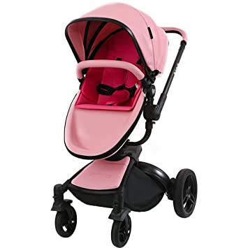 Strollers Travel Systems Pu Leather Newborn Pram Infant Car Seat