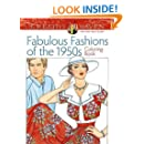 Creative Haven Fabulous Fashions of the 1950s Coloring Book (Adult Coloring)