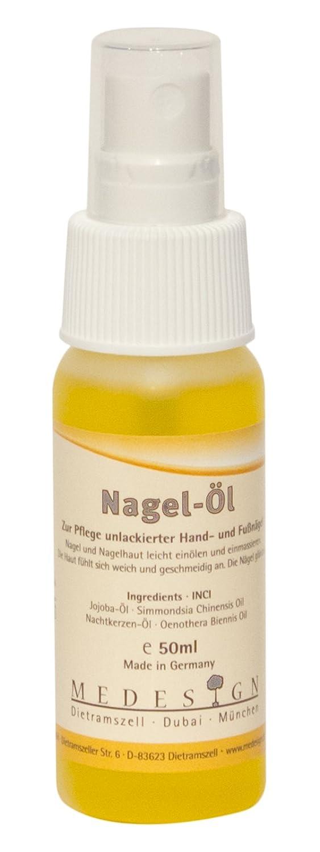 Manor - Aceite para uñas (50 ml) medesign MED1001354