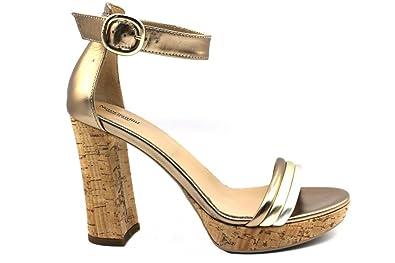 il più economico risparmi fantastici migliore vendita NeroGiardin P805845D Bronzo Calzature Sandali Eleganti Tacchi Alti ...