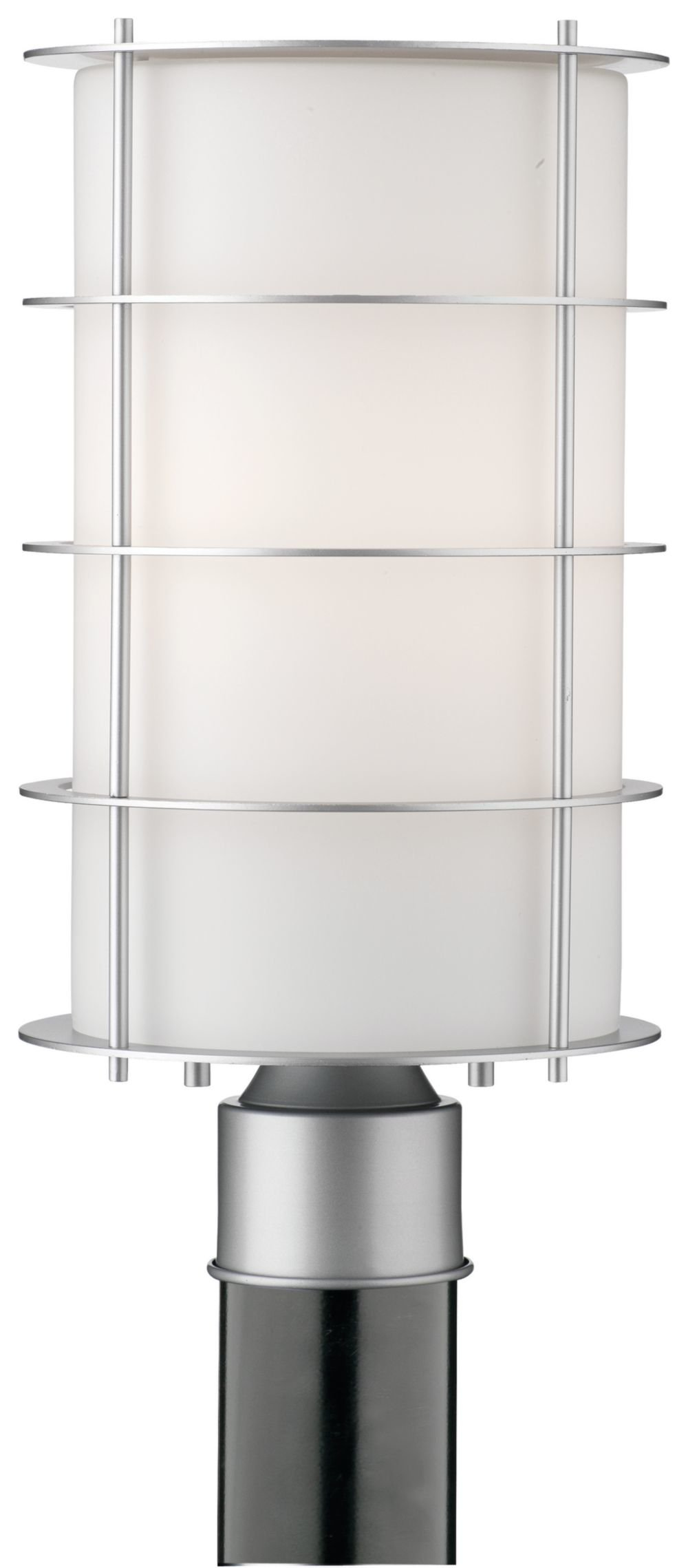 Philips Forecast F849441NV Hollywood Hills Outdoor Post Lantern, Vista Silver by Philips