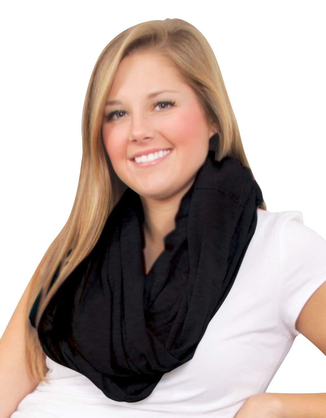 Leachco Duo Nursing Infinity Scarf Heather Gray