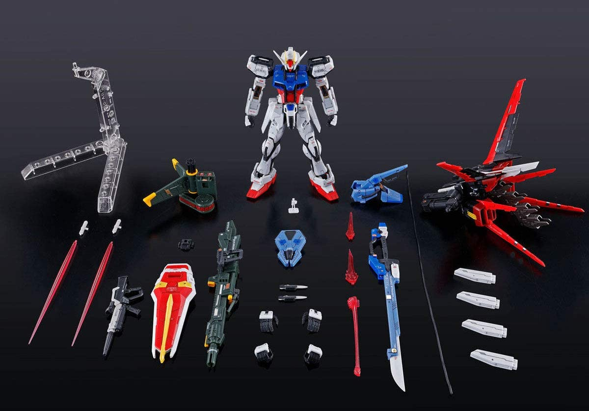 Bandai RG 1//144 GAT-X 105+AQM//E-YM1 Perfect Strike Gundam Model kit