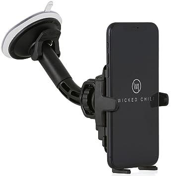 Wicked Chili Auto Halterung mit Kugelgelenk für Apple iPhone XS / X / 8 / 7 / 6 / SE / 5 Apple KFZ Handy Autohalterung Smartp