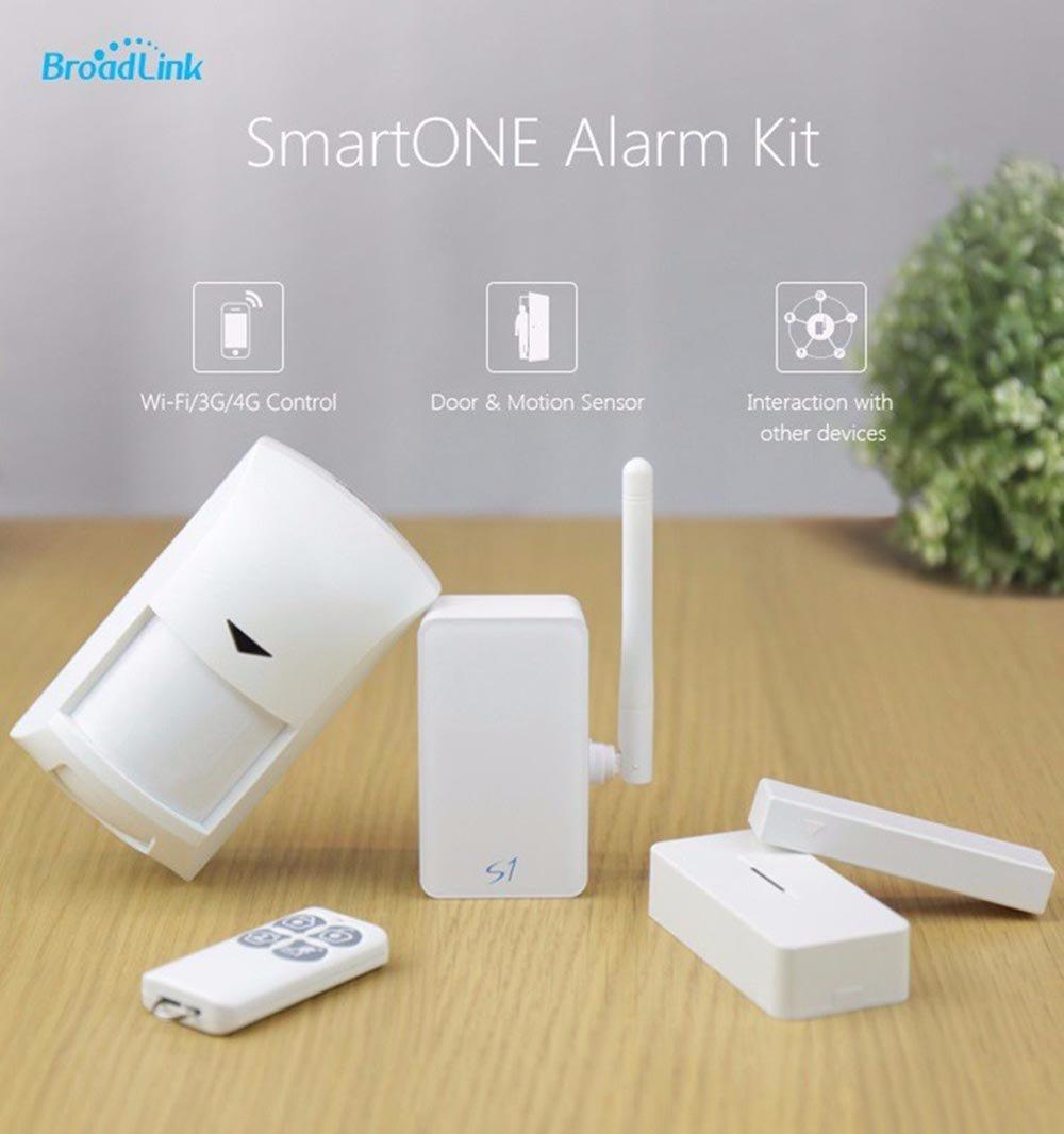 Broadlink S1C SmartOne Wifi Kit Alarma puerta de movimiento ...