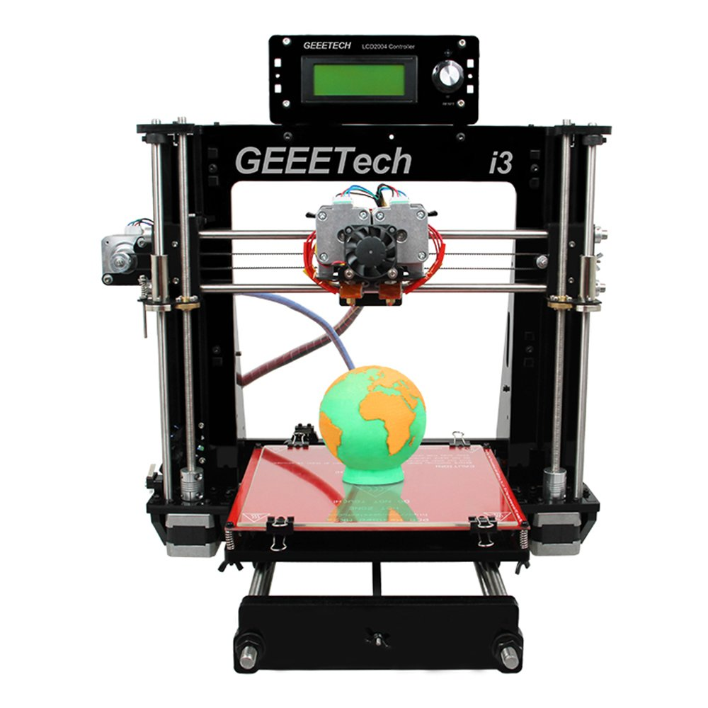 Geeetech I3 Pro C Dual Extruderdouble Headreprap Camt Launching Firstever 3d Printer For Printed Circuit Board Pursa Printertwo Color Printing High Resolution Sports Outdoors