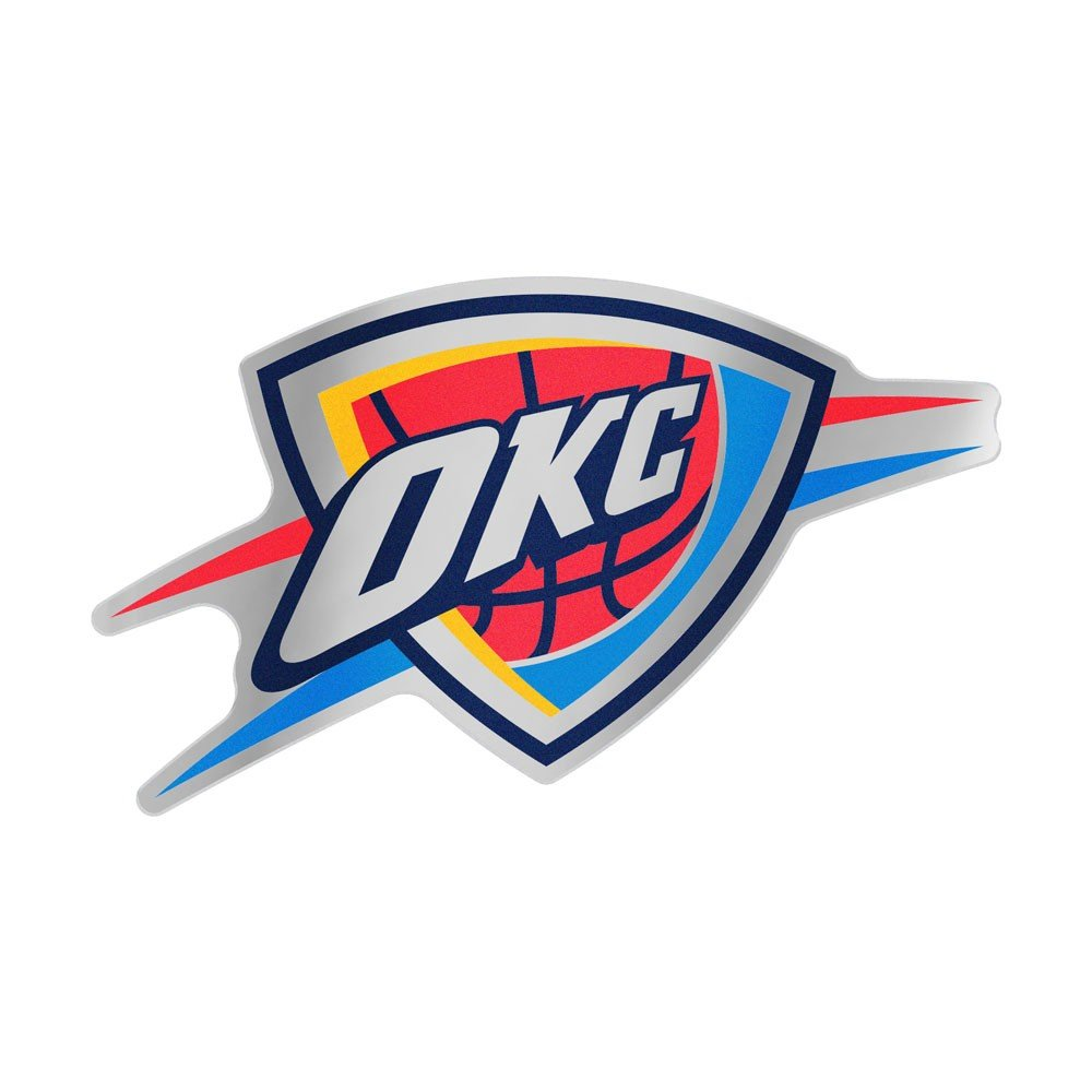 Wincraft NBA OKLAHOMA CITY THUNDER Team Auto Badge Decal