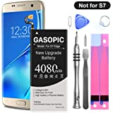 Galaxy S7 Edge Battery Replacement Kit, Upgraded 4080mAh Li-Polymer EB-BG935ABE Replacement Battery for Samsung Galaxy…