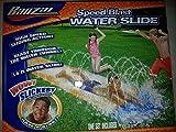Banzai Speed Blast Water Slide High Speed Sliding Action Blast Through Water Tunnel with Gaden Hose Attachment