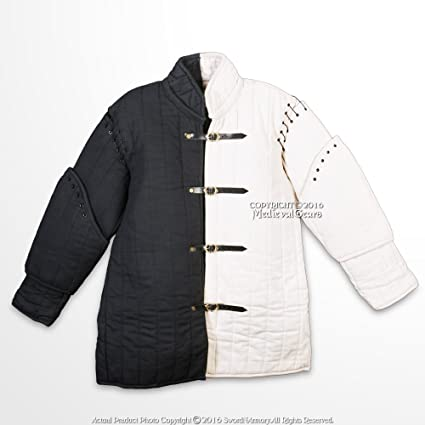 Medieval Cotton gambeson Padded armor SCA gambeson Arming jacket