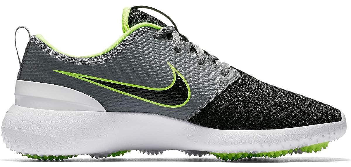 2ac6f7416b Amazon.com | Nike Roshe G Spikeless Golf Shoes 2018 Cool Gray/Black/Volt/ White Medium 8.5 | Golf