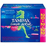 Tampax Compak fresche Super Active 22 Tampons - Lotto di 3