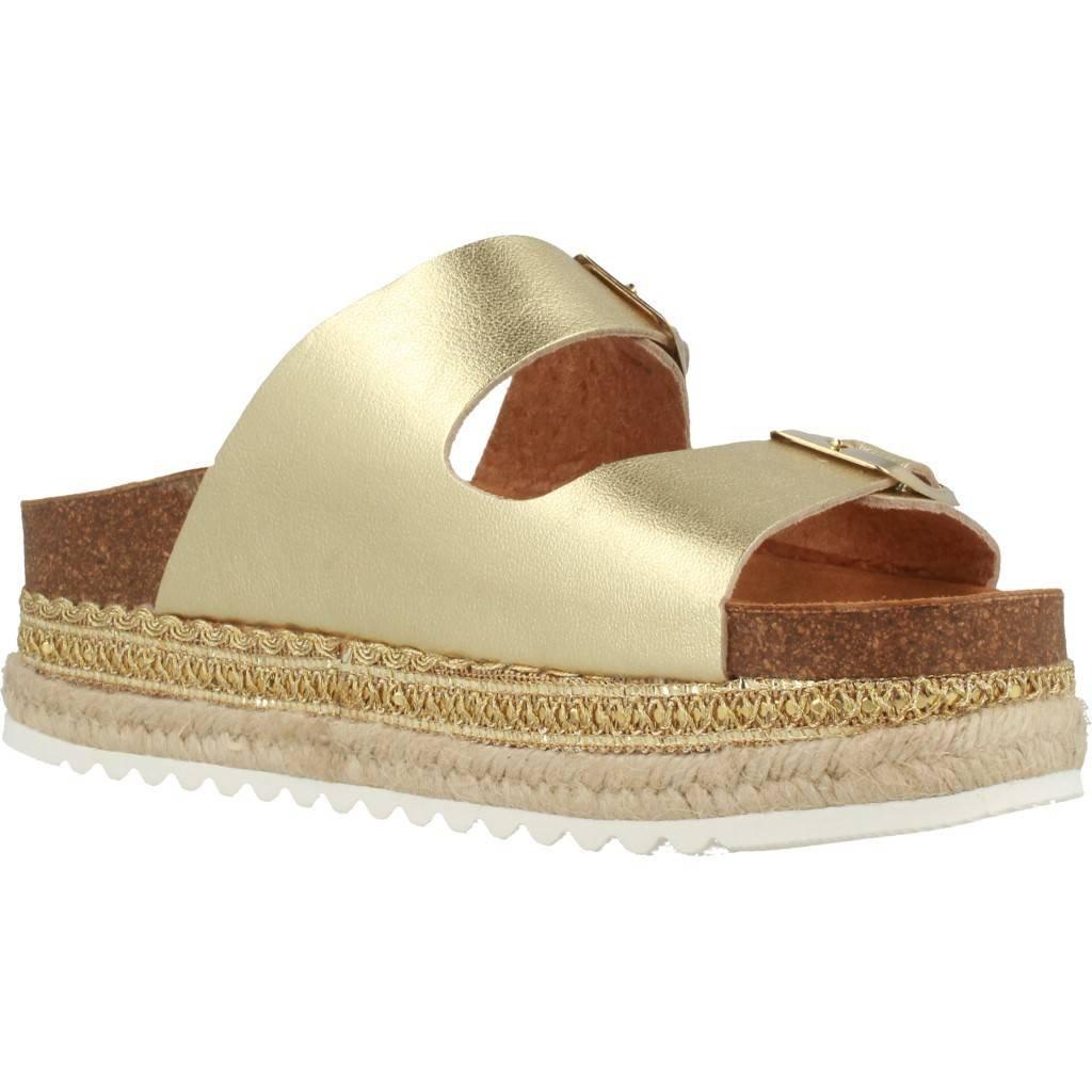 giallo Sandali per Le Donne, colore oro, Marca, Modello Sandali Sandali Sandali per Le Donne Iowa oro ccb812