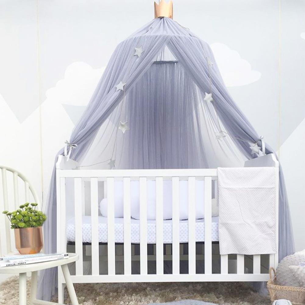 sunronal Dosel Canopy para Cama Mosquitera Infantiles con C/úpula Redonda Princesa Mosquitera Decoraci/ón o Protecci/ón Ante Insectos para Ni/ños